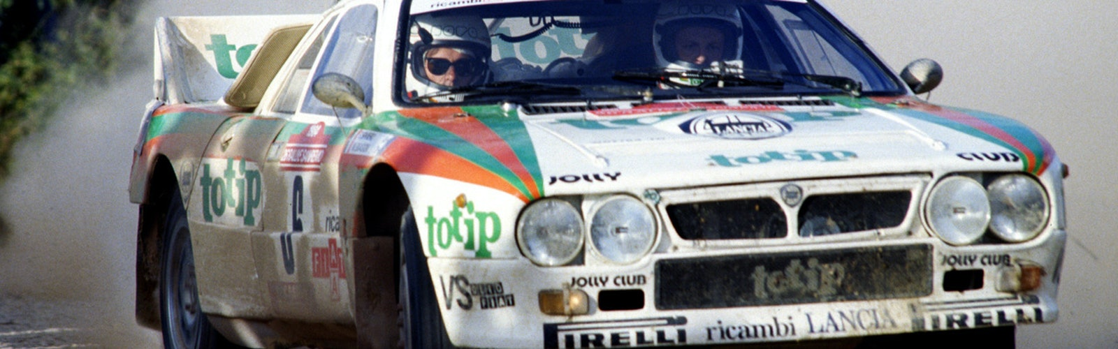 Miki Biaision Jolly Club Lancia WRC Sanremo Rally 1984