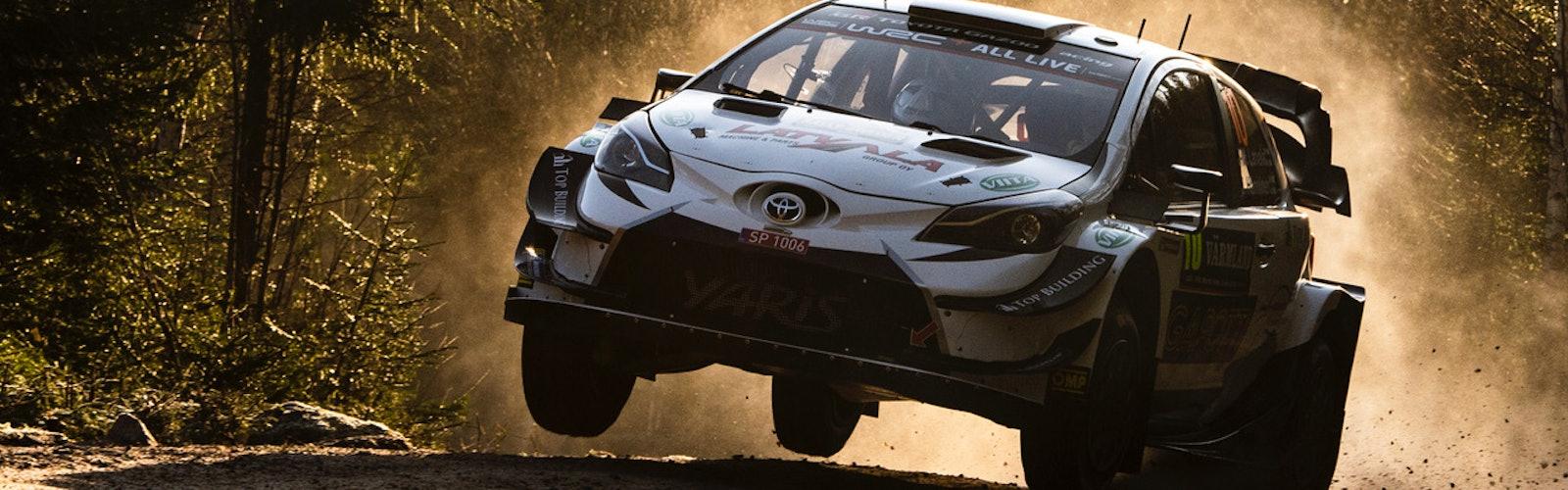 Jari-Matti Latvala Rally Sweden