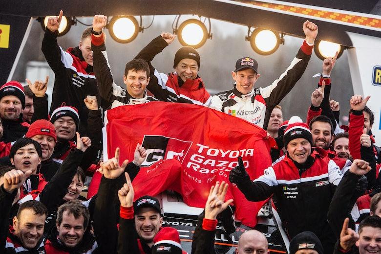 Elfyn Evans wins Rally Sweden