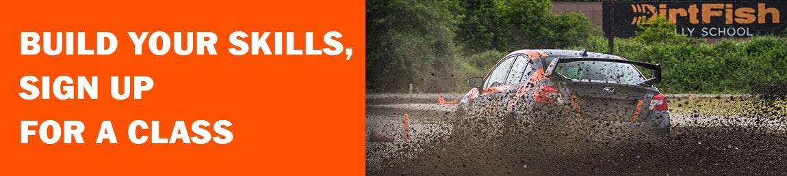 start competing class rally school