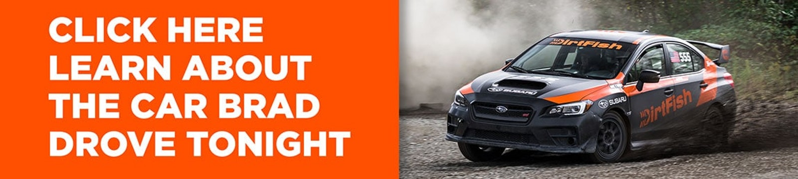Learn about the Subaru WRX STI that Brad DeBerti drove