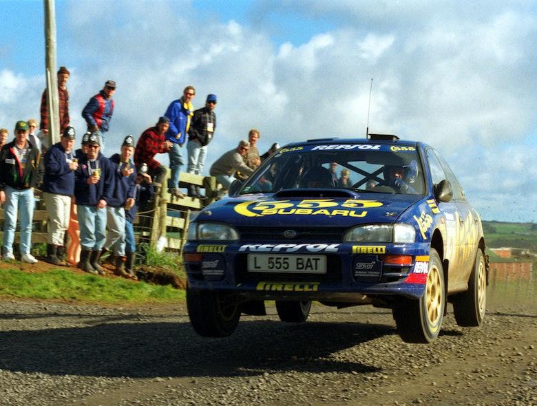 Colin McRae Subaru WRC Rally New Zealand 1994