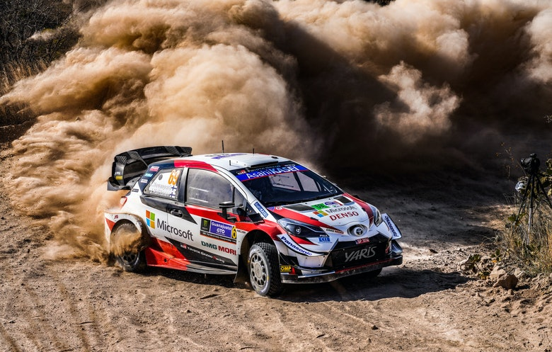 Rovanpera Toyota Mexico WRC