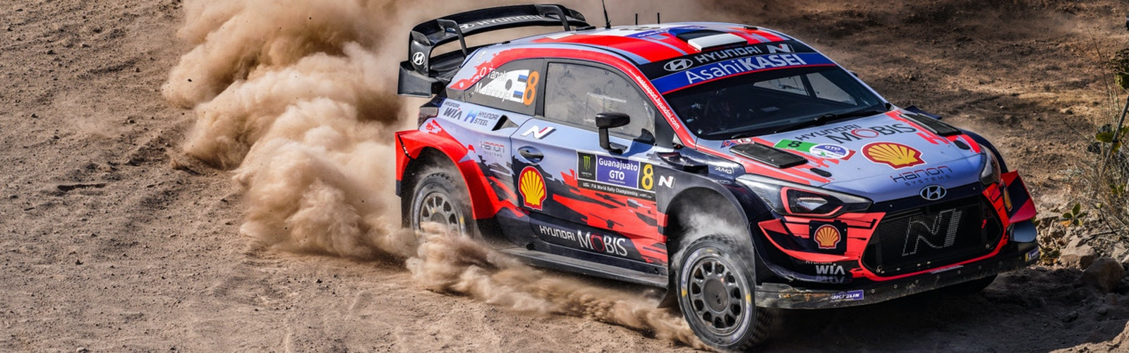 Tanak Hyundai WRC 2020