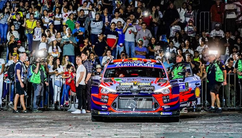Thierry Neuville Hyundai Rally Mexico WRC 2020