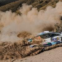Esapekka Lappi M-Sport Ford WRC Rally Mexico 2020