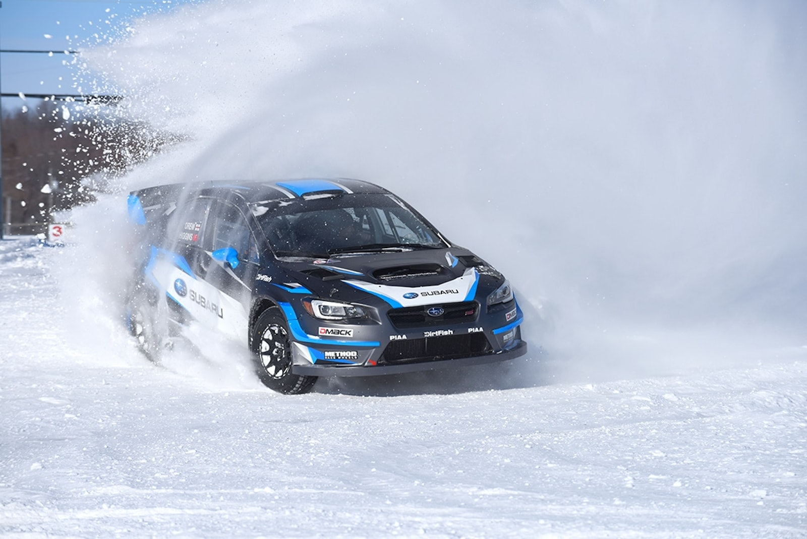 David_Higgins_and_co_driver_Craig_Drew_prepare_for_the_season_opening_Rally_Perce_Neige_in_Canada