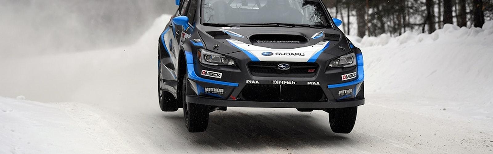 David Higgins Rallye Perce Neige 2017