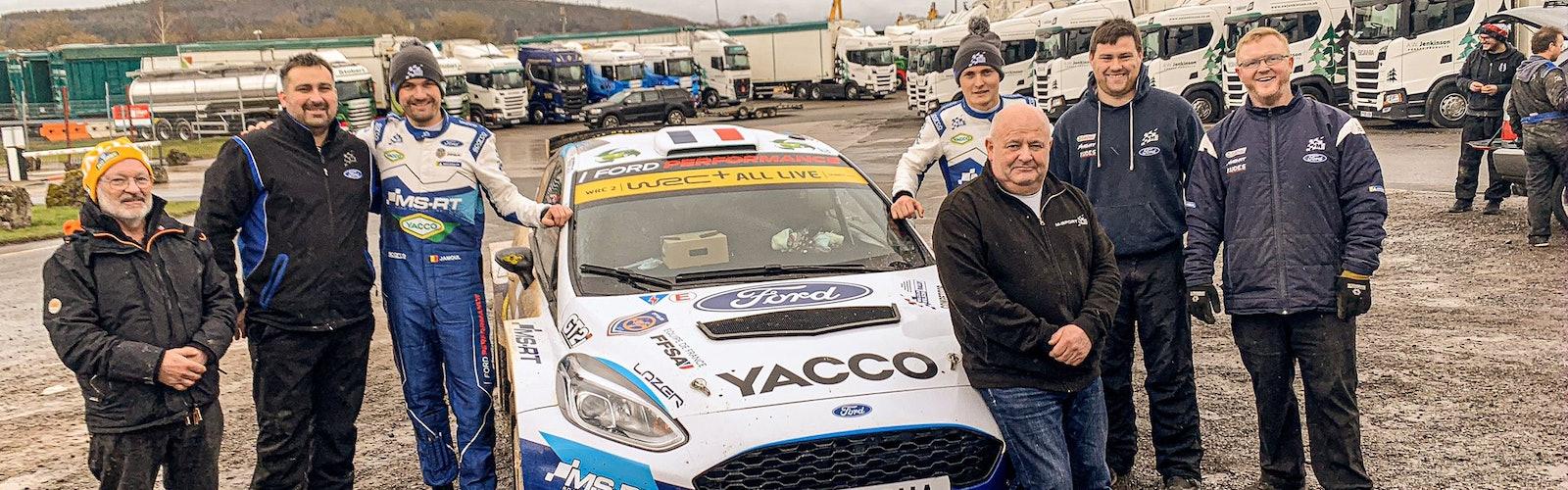 Adrien Fourmaux M-Sport Malcolm Wilson Rally 2020