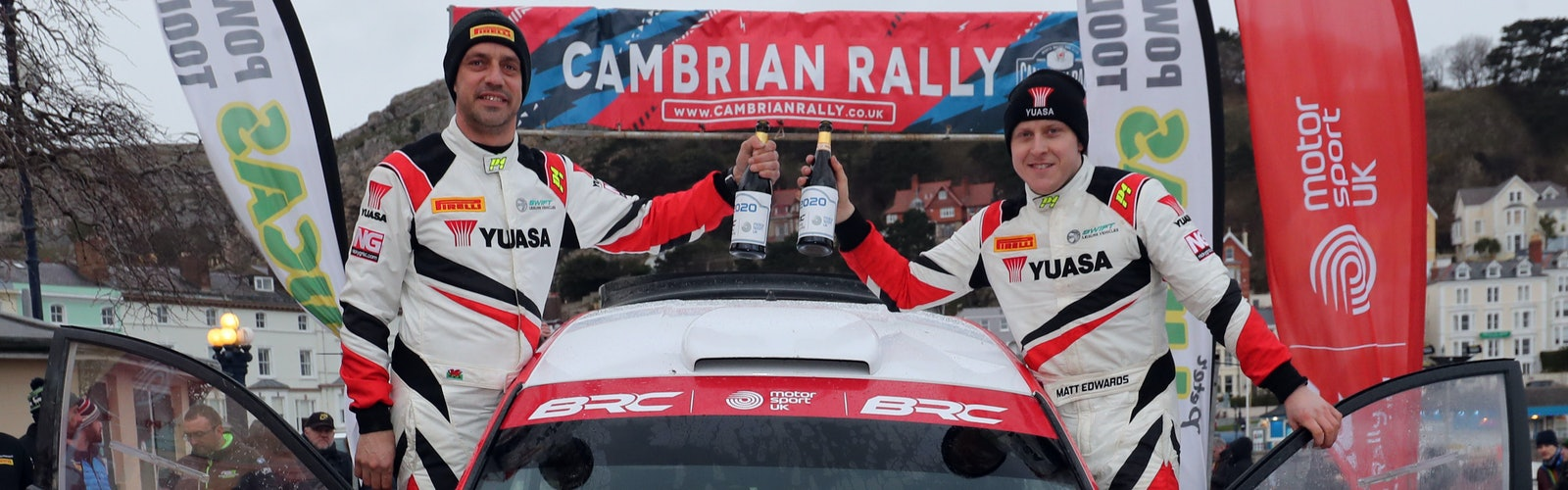 Matt Edwards wins Cambrian Rally British Rally Championship 2020
