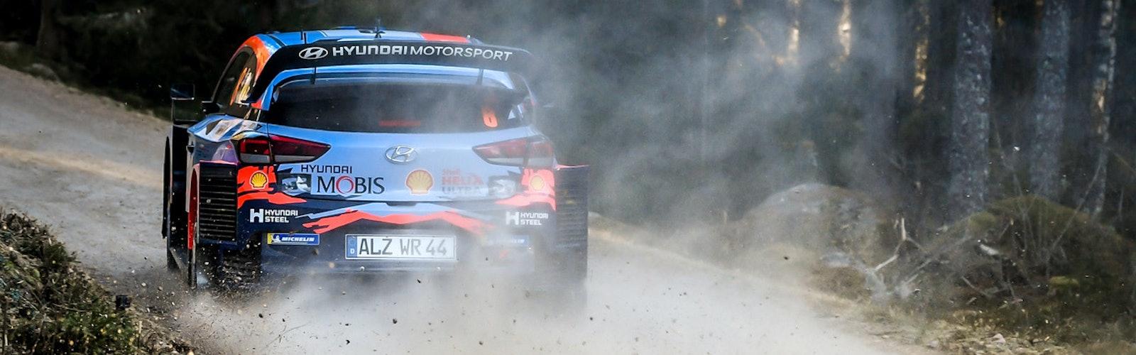 Ott Tänak, Hyundai, WRC Rally Sweden 2020