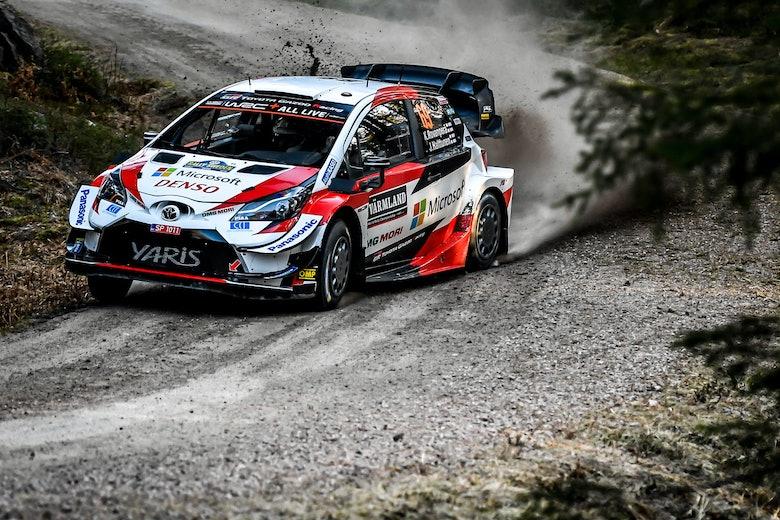 Kalle Rovanperä Toyota Rally Sweden 2020