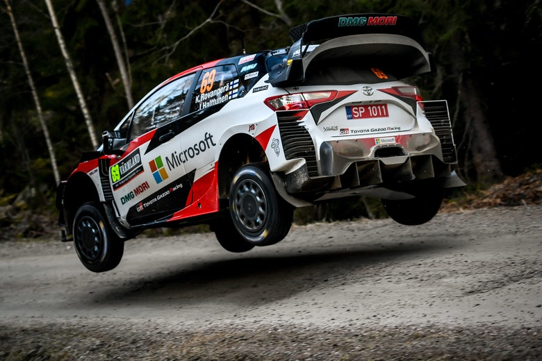 Kalle Rovanperä Toyota WRC Rally Sweden 2020
