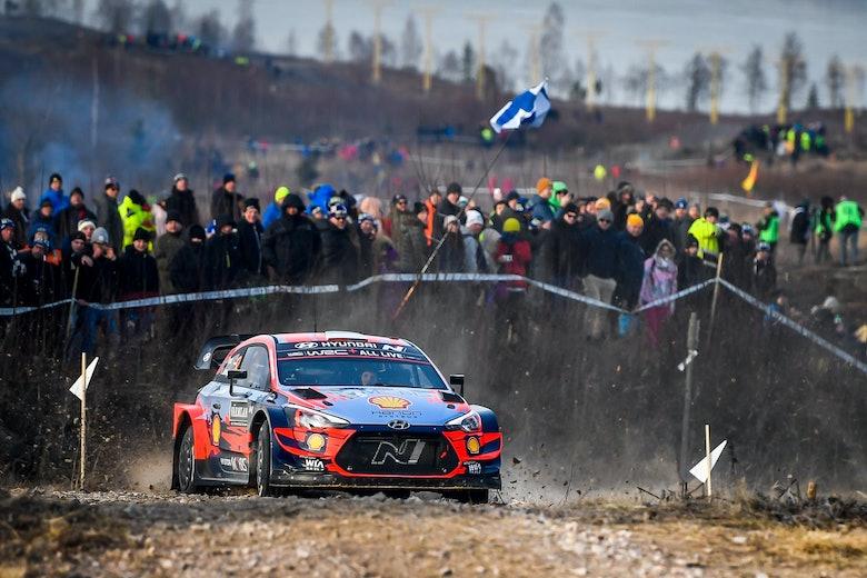 Ott Tänak Hyundai WRC Rally Sweden 2020
