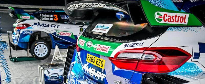 M-Sport Rally Mexico