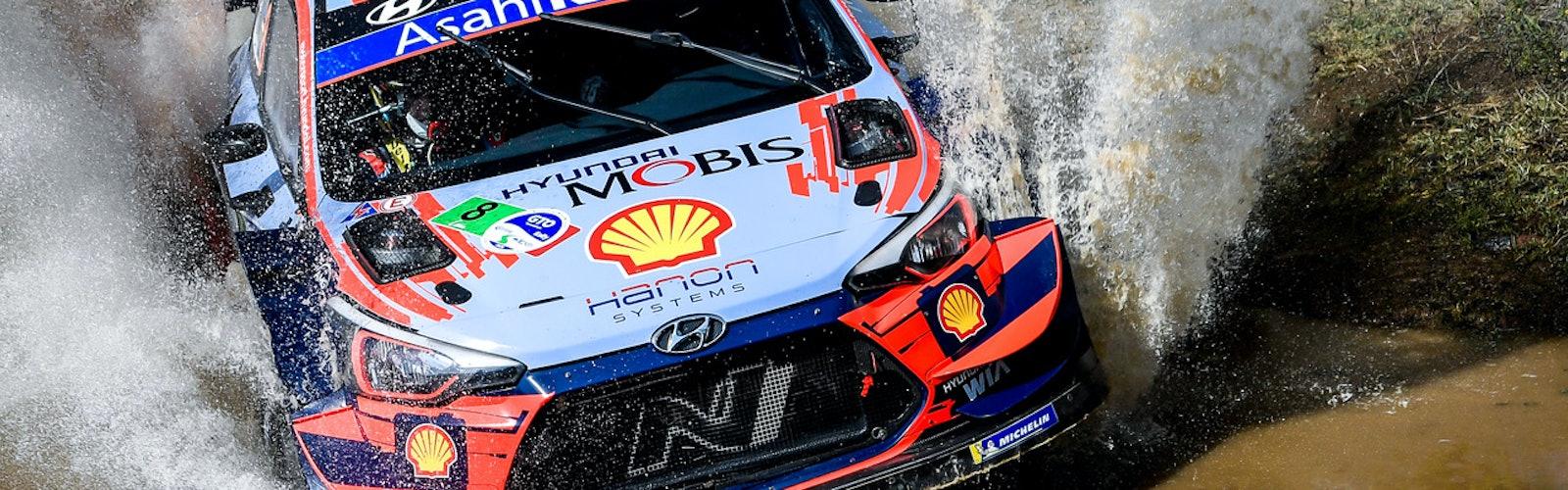 Ott Tänak Hyundai WRC Rally México 2020
