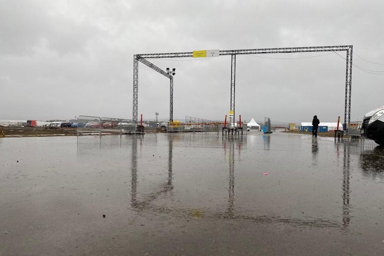 Rally Sweden rain