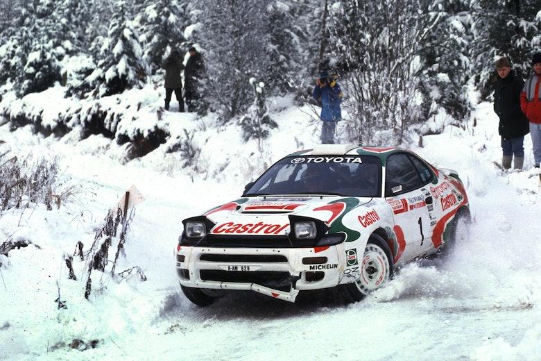 Juha Kankkunen Toyota RAC Rally WRC 1993