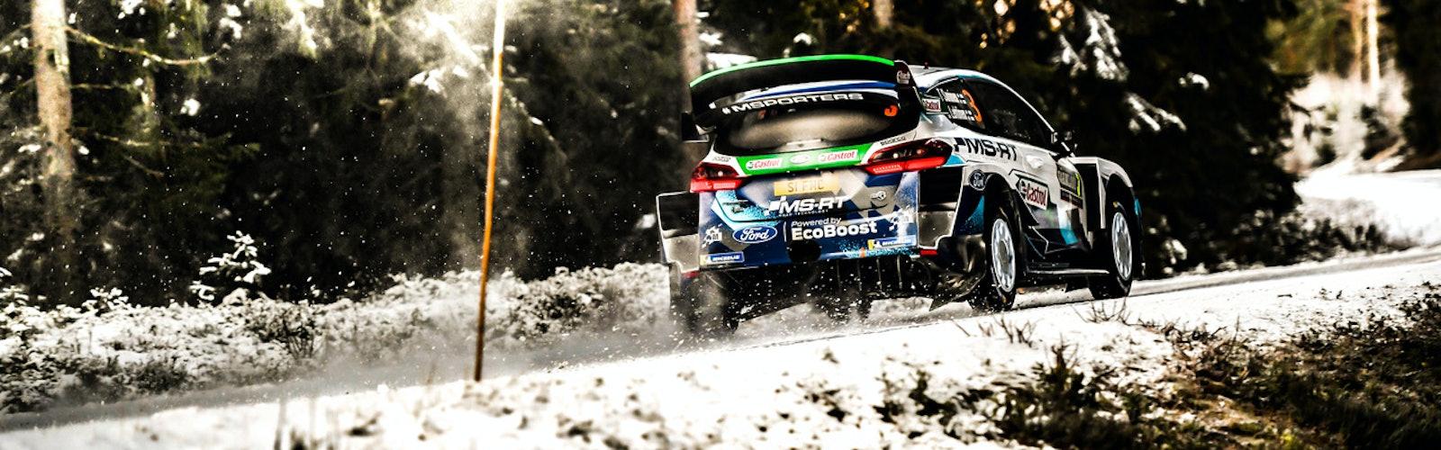 Teemu Suninen M-Sport Ford WRC Rally Sweden 2020