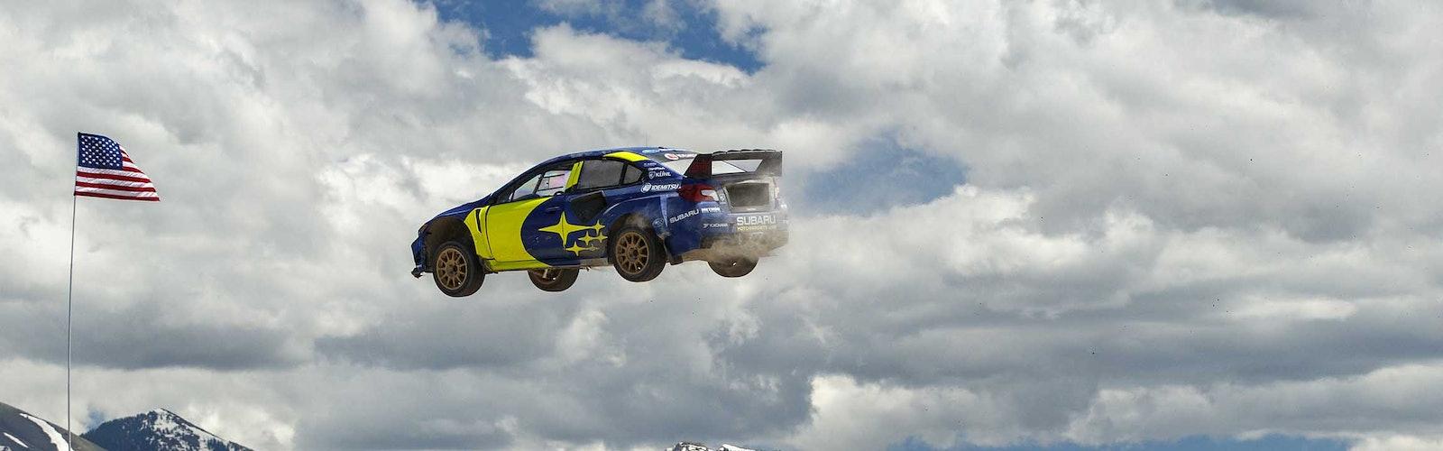 Nitro-Rallycross-Test