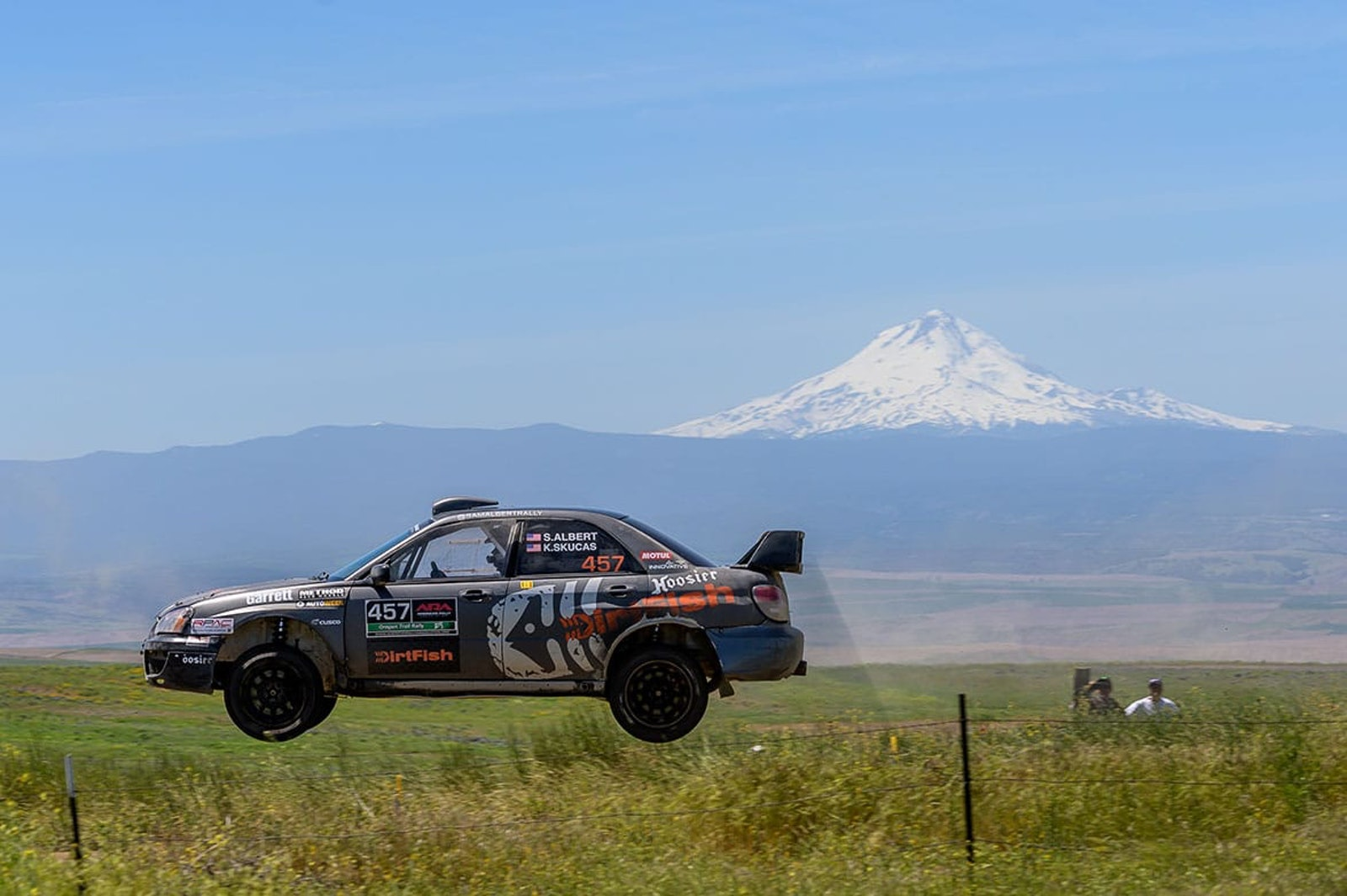 sam albert rally dirtfish oregon trail