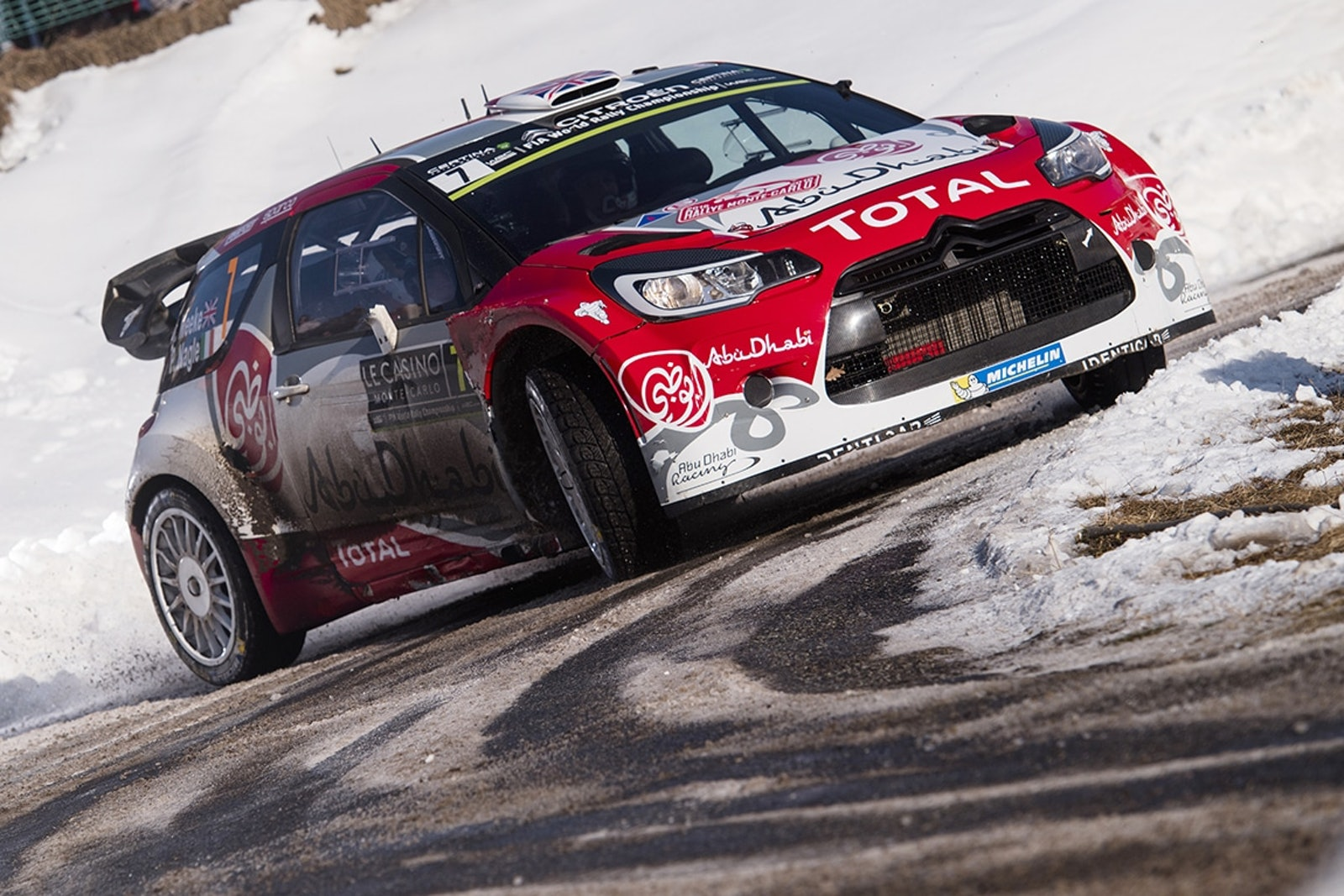 Kris Meeke (GBR) competes during the FIA World Rally Championship 2016 in Monte Carlo, Monaco on January 23, 2016 // Jaanus Ree/Red Bull Content Pool // P-20160124-00001 // Usage for editorial use only // Please go to www.redbullcontentpool.com for further information. //