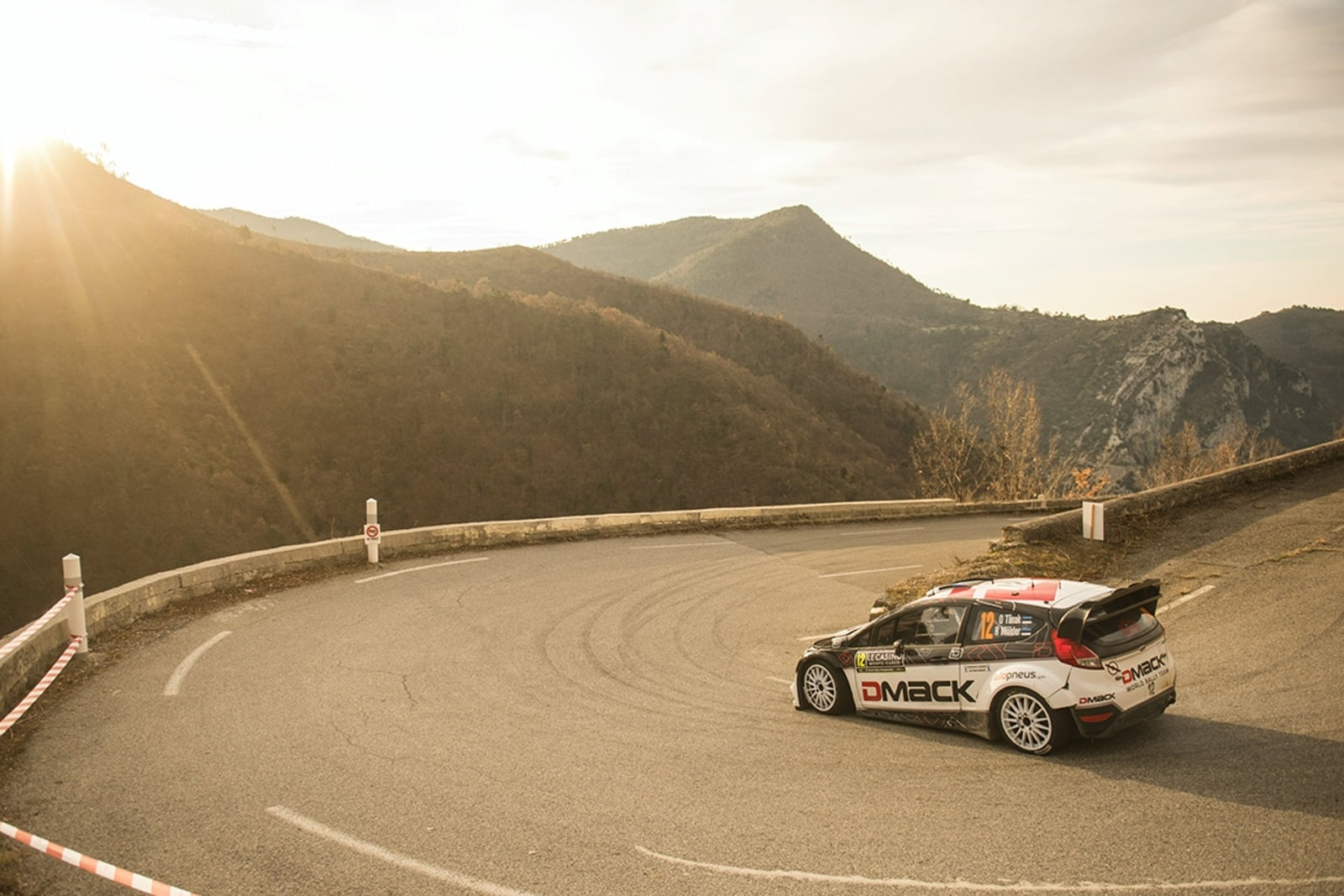 Ott Tanak (Est) competes during the FIA World Rally Championship 2016 in Monte Carlo, Monaco on January 24, 2016 // Jaanus Ree/Red Bull Content Pool // P-20160124-00179 // Usage for editorial use only // Please go to www.redbullcontentpool.com for further information. //