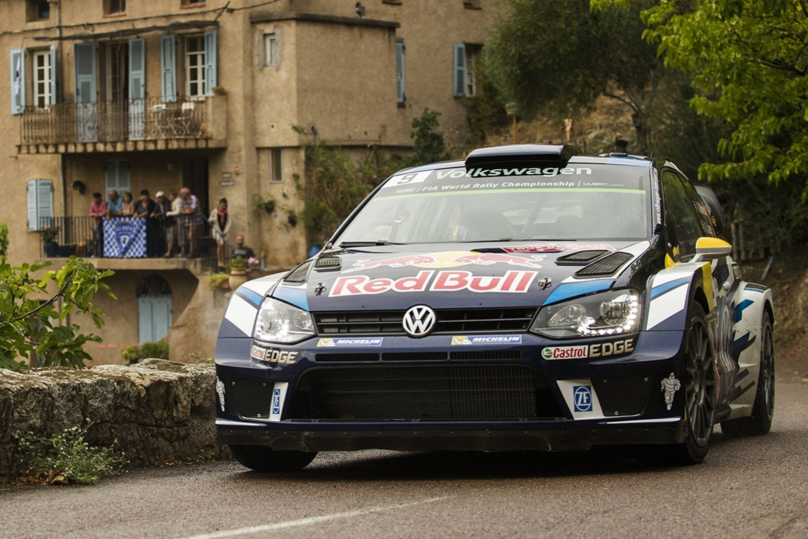 Andreas Mikkelsen (NOR) performs during  FIA World Rally Championship 2016 France in Ajaccio , France on October 1, 2016 // Jaanus Ree/Red Bull Content Pool // P-20161001-02091 // Usage for editorial use only // Please go to www.redbullcontentpool.com for further information. //