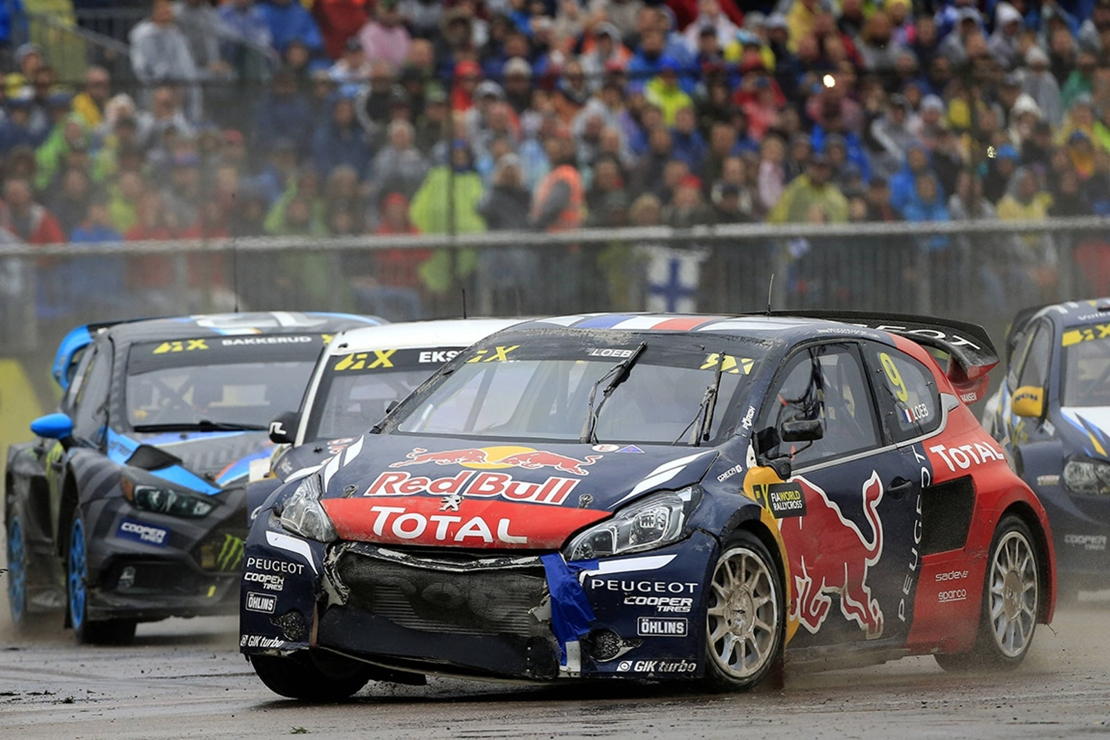 Sebastien Loeb performs at the FIA World RallyCross Championship Riga Circuit in Latvia on the 2 October 2016  // @World / Red Bull Content Pool // P-20161002-01879 // Usage for editorial use only // Please go to www.redbullcontentpool.com for further information. //
