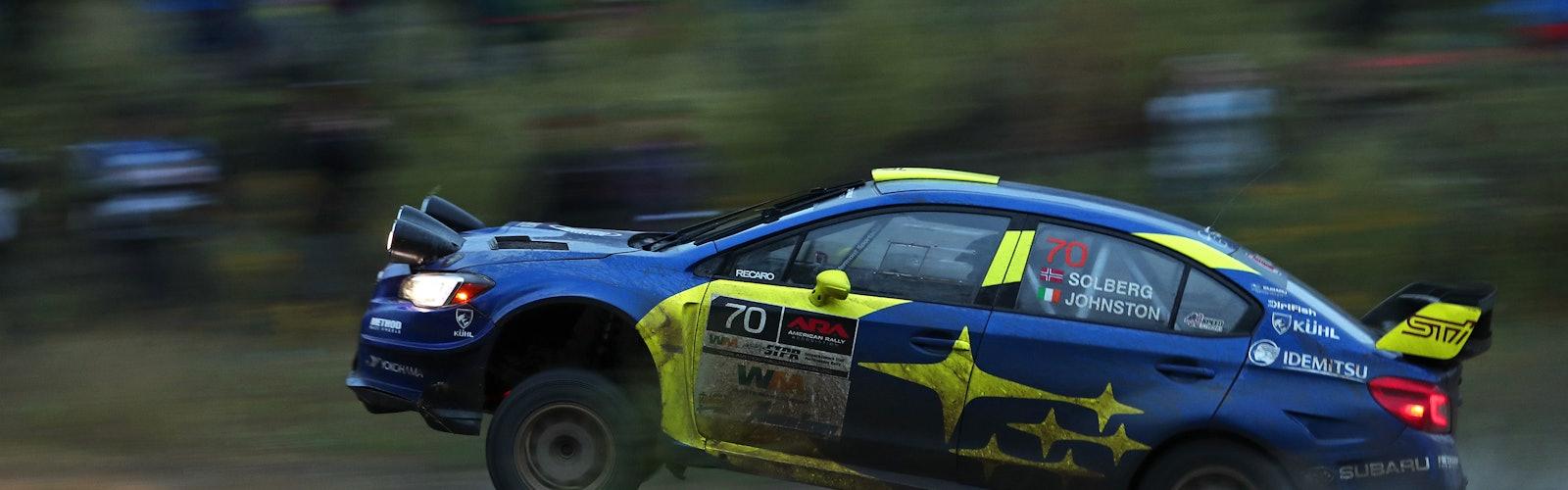 Susquehannock Trail Performance Rally ARA