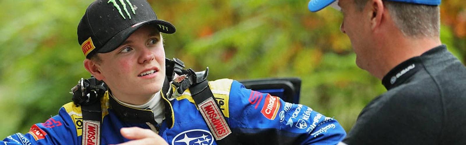 Oliver Solberg with Subaru Motorsports USA