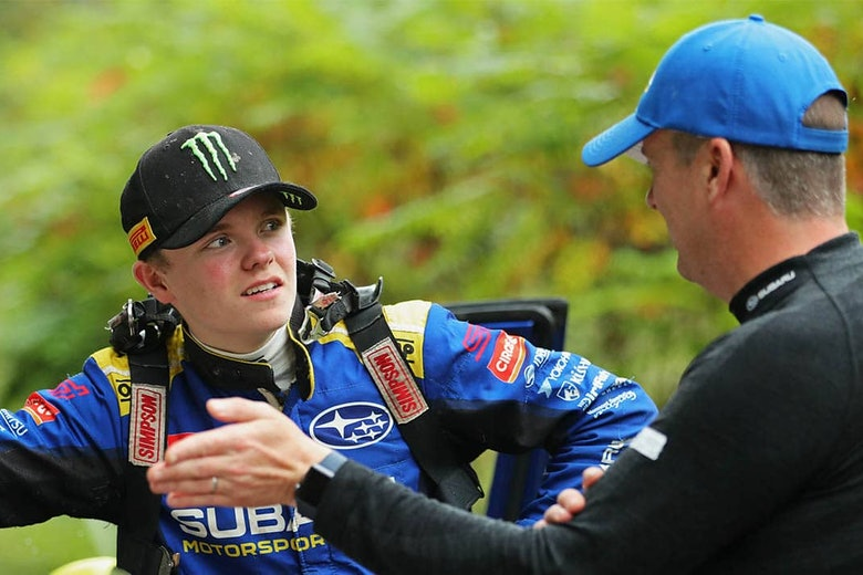 Oliver Solberg with Subaru Motorsports USA