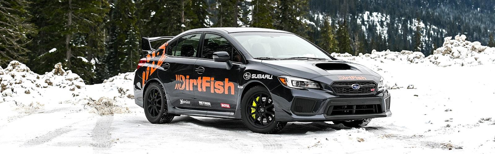 Subaru-WRX-Snow