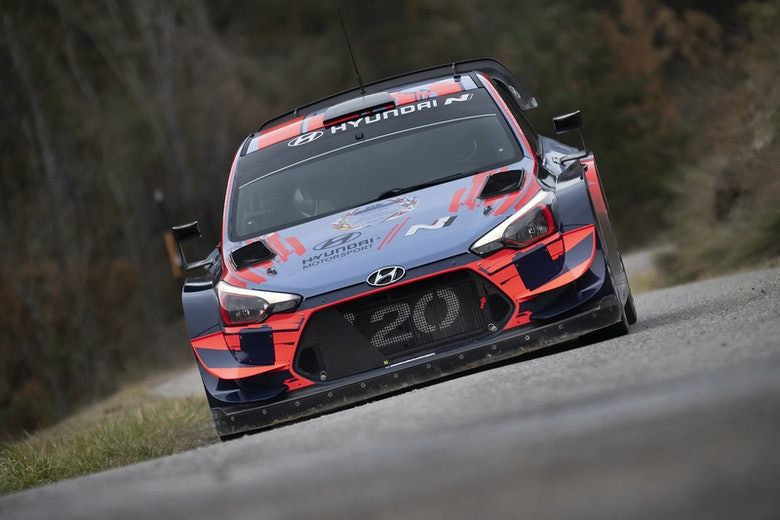 Ott Tänak Hyundai WRC 2020 test