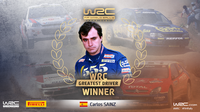 The Greatest WRC Driver winner - GRAPHIC2
