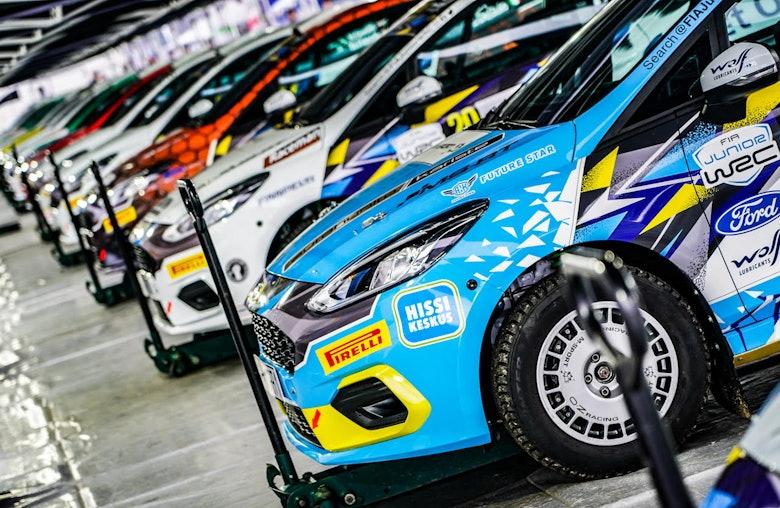 JWRC cars