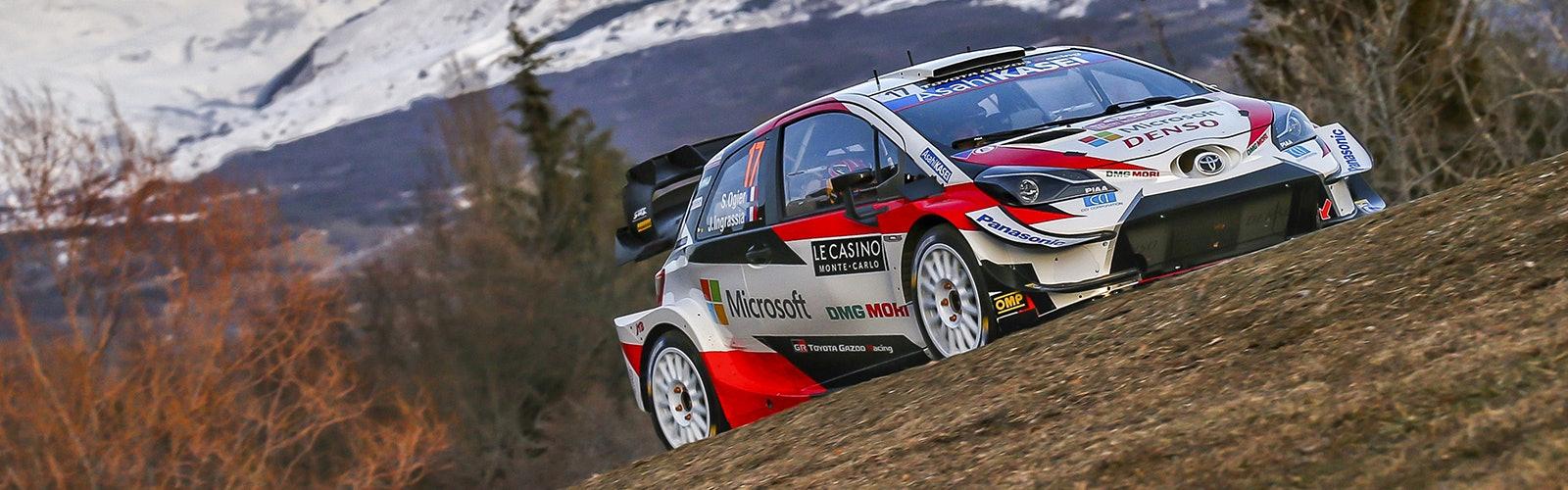Sebastien Ogier Toyota Monte Carlo Rally WRC 2020
