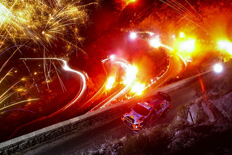 Ott Tanak Hyundai Monte Carlo Rally 2020