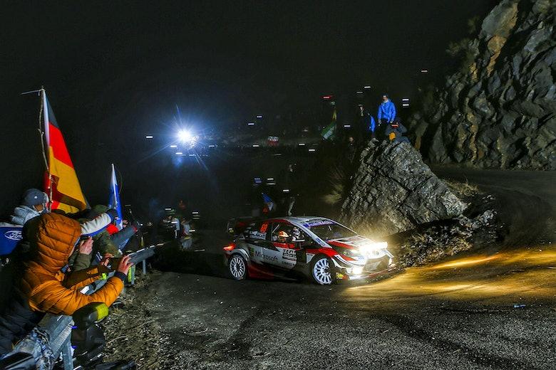 Kalle Rovanpera Toyota Monte Carlo Rally 2020