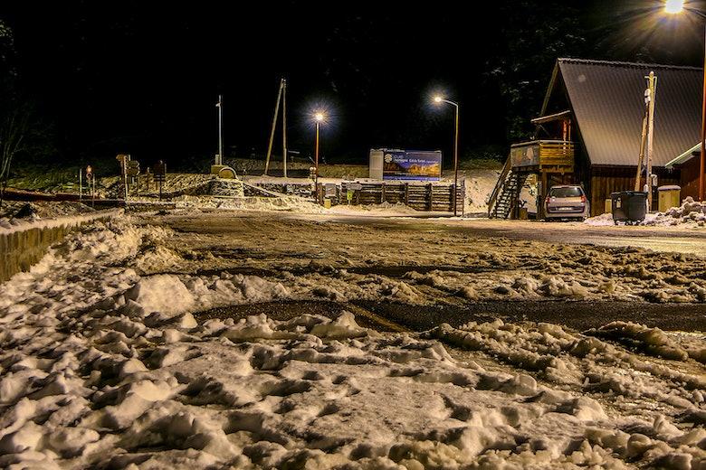 Col de Turini snow