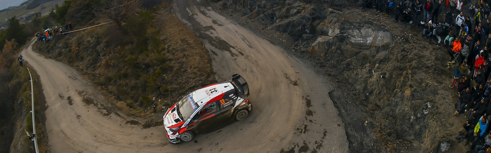 Elfyn Evans Toyota Monte Carlo Rally 2020
