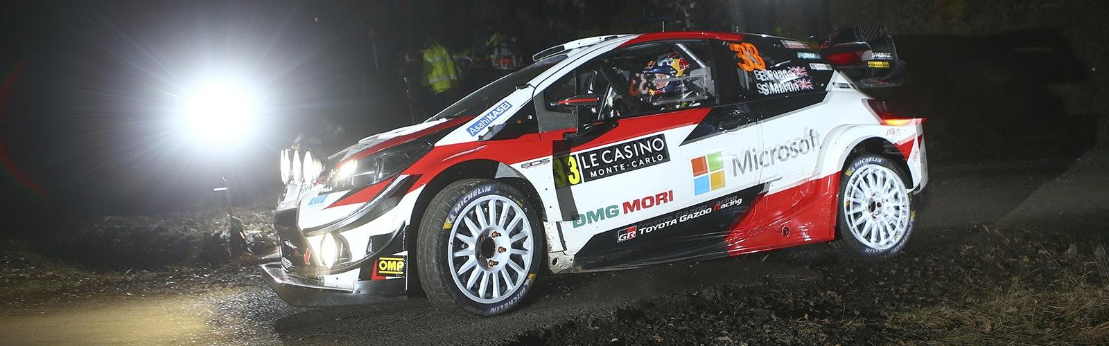 Elfyn Evans Toyota Monte Carlo WRC 2020