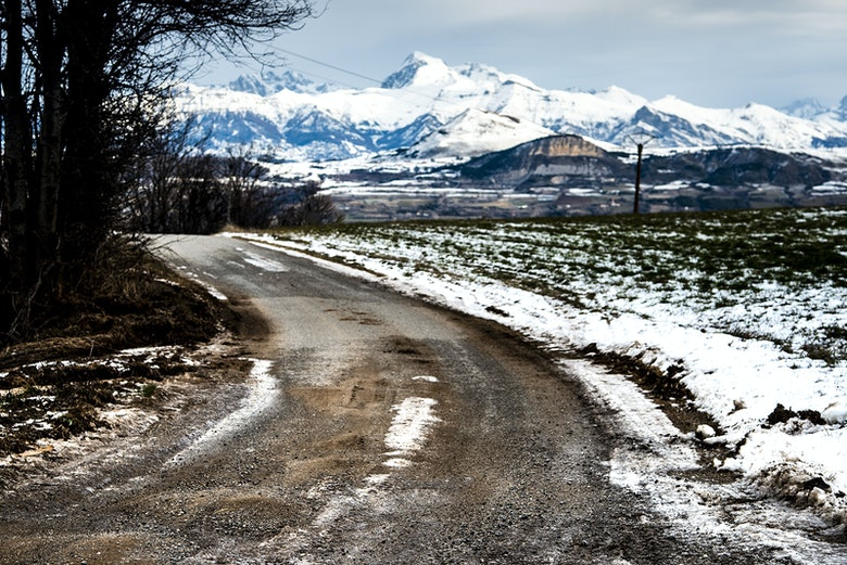 Monte Carlo Rally ice