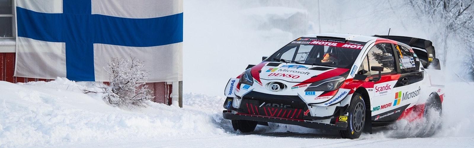 Kalle Rovanperä Arctic Rally 2020