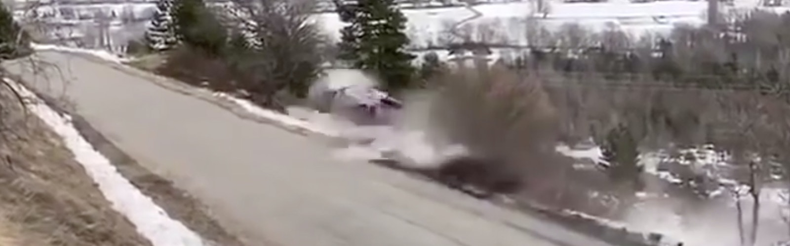 Ott Tanak crash