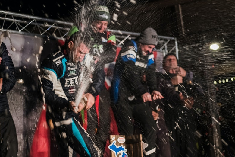 Sno*Drift Rally podium 2020