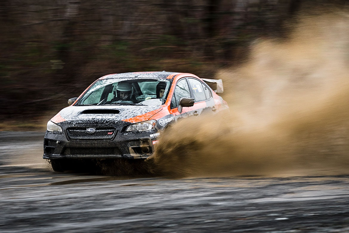 DirtFish rally school car