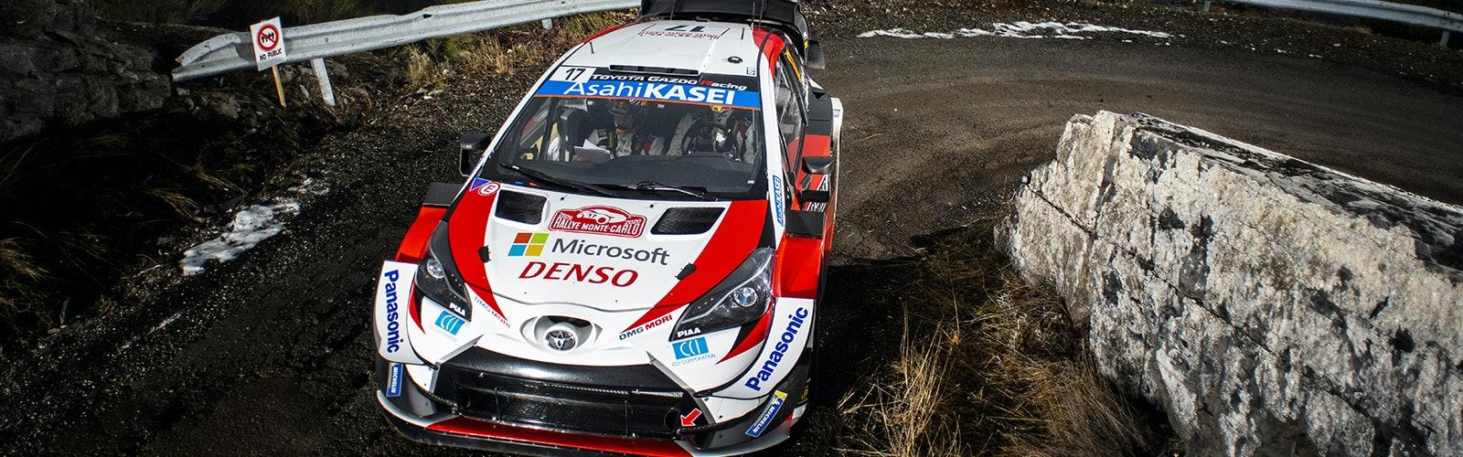 Sebastien Ogier Toyota Monte Carlo Rally 2020