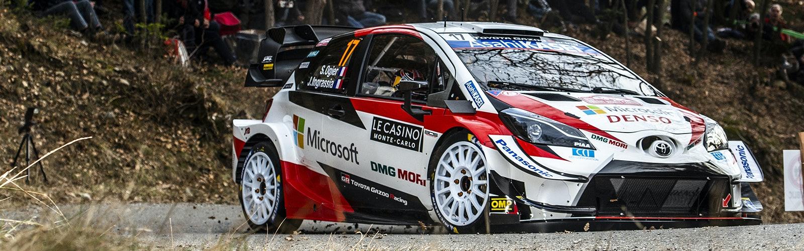 Sebastien Ogier Toyota WRC Monte Carlo Rally 2020
