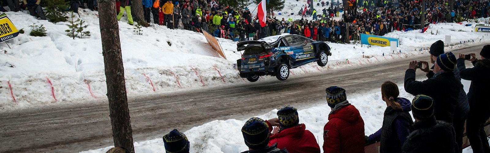 Teemu Suninen M-Sport Ford WRC Rally Sweden 2019